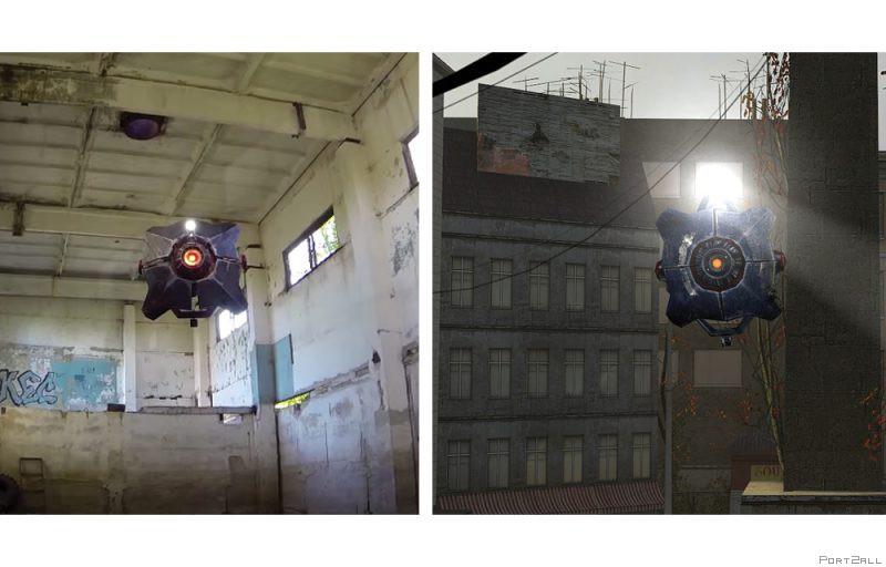"""Беспилотник из Half-Life 2 """"Городской сканер"""""""